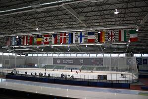 Inside the Olympic Oval: After presentations, participants were treated to a tour of the facility.