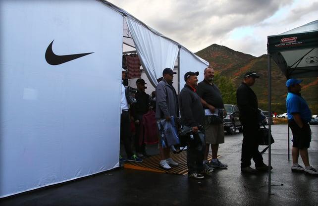 Nike Tent